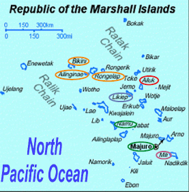 Republic of the Marshall Islands Atolls